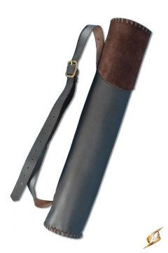 Großer Rückenköcher Hunter in braun