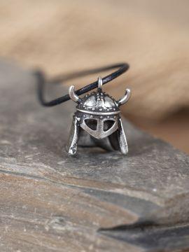 Amulett Wikingerhelm silber