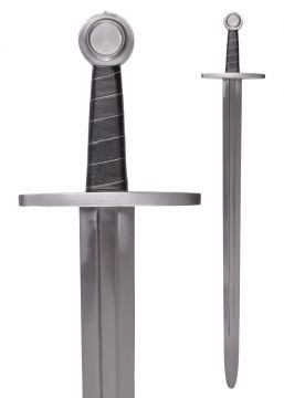 Hochmittelalterschwert mit Scheide für Schaukampf