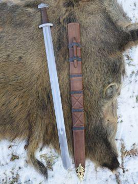 Wikingerschwert mit Scheide SK-B