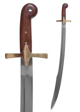 Türkischer Scimitar mit Lederscheide