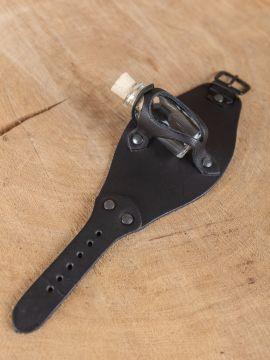 Armband mit Trankflasche schwarz