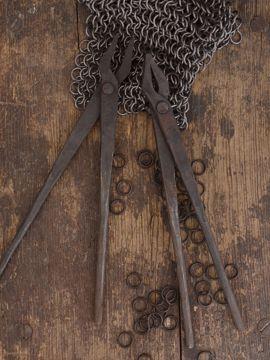 1 Paar handgeschmiedete Sarwürkerzangen