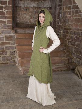 Wickelkleid Dala aus Baumwolle lindgrün