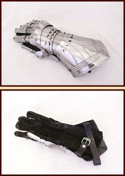Gotische Panzerhandschuhe