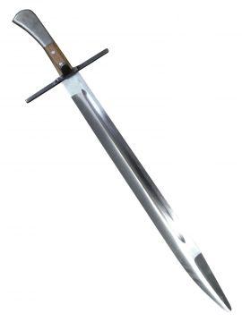 Langes Messer mit breiter Klinge SK-A