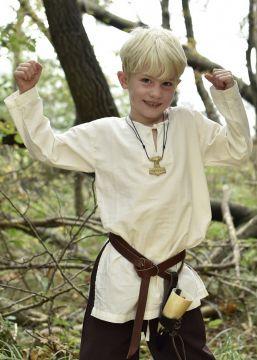 Mittelaltertunika für Kinder natur