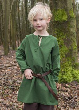 Mittelaltertunika für Kinder grün