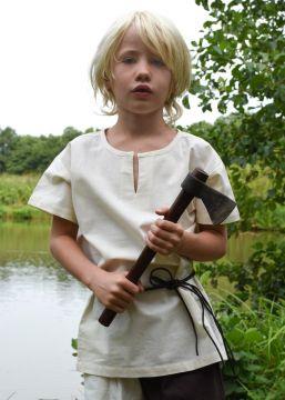 Kindertunika kurzarm natur