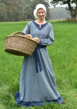 Kleid Freydis blau M