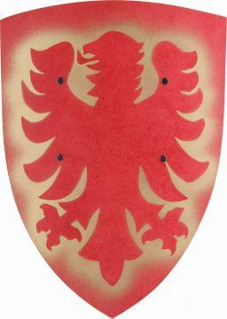 Schild - Adler - rot