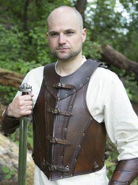Lederpanzer Antonius braun