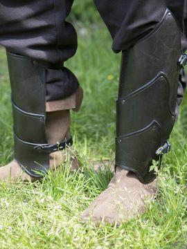 Beinschienen Alistair schwarz