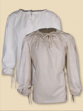 einfaches Leinenhemd