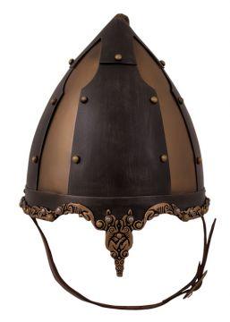 Rus-Helm mit Haarbusch