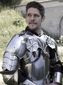 Gotischer Kragen mit Schultern