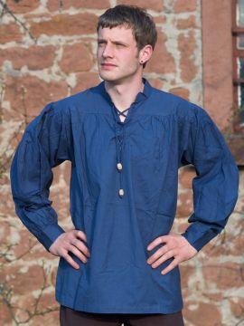 Mittelalterhemd blau XXXL