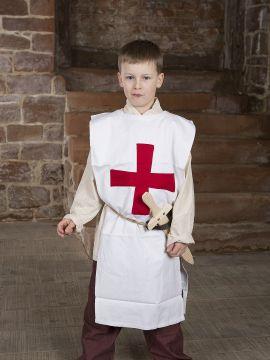 """Kinder-Waffenrock """"Tempelritter"""""""