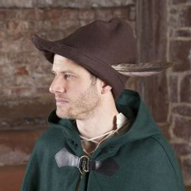 Hut - Robin Hood (Wolle), braun