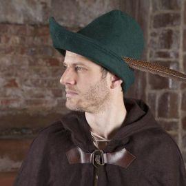 Hut - Robin Hood (Wolle), grün