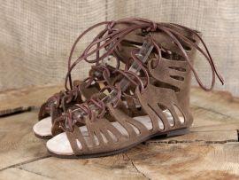 Sandale (nach historischem Vorbild)