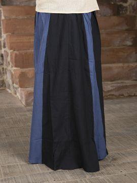 Rock für Mittelalter schwarz-blau