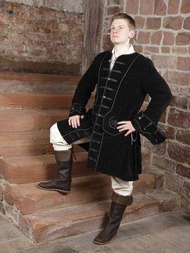 Prunkjacke Gehrock in schwarz XXXL