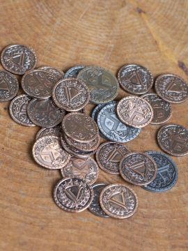 LARP-Münzen Mittelalter