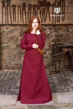 Unterkleid Freya bordeauxrot