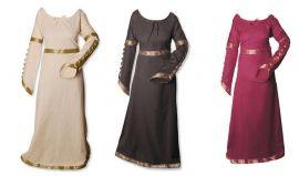 Kleid mit geknöpften Ärmeln