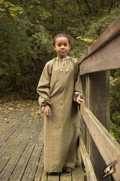 Untergewand für Mädchen grün 8-10 Jahre