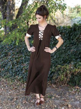 Sommerkleid braun XL