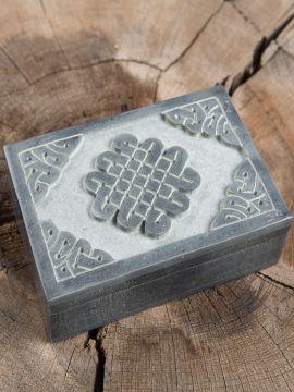 Steintruhe Keltischer Knoten