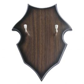 Schwerthalter mit Holzwandplatte