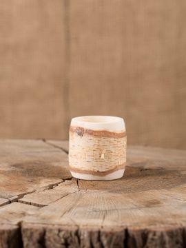 kleiner Becher aus Birkenholz