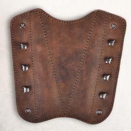 Bogenschützen-Armschutz braun