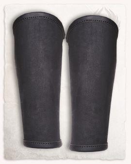 Borg Beinschienen schwarz