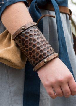 Schlichter Armschutz aus Leder groß