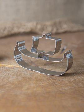 Ausstecher Wikingerboot