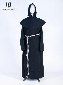 Gewandset Mönch Benedikt schwarz