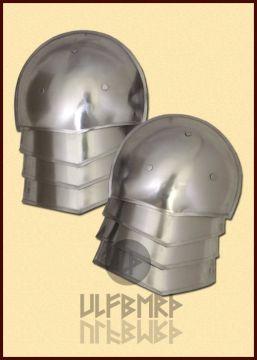 Mittelalterliche Schulterplatten