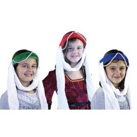 Burgfräuleinband aus Samt