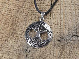 Silberanhänger Weltenbaum