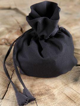 Stoffbeutel, schwarz
