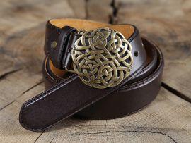 Ledergürtel Keltischer Knoten
