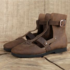 Hohe Sandalen - Alemannenschuhe