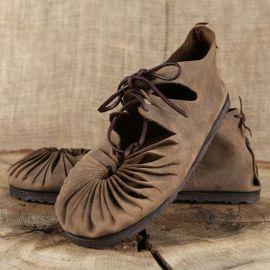 Bundschuhe (mit fester Sohle) 43 | braun