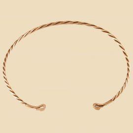 Keltischer Schwanenhals-Torque aus Bronze