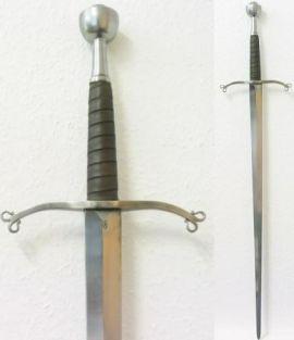 Schaukampfschwert - durchgehend geschmiedet - 1 1/2