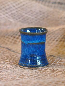 Keramik Schnapsbecher marine